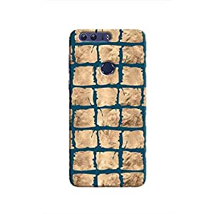 Cover It Up - Rock Dark Blue Break Honor 8 Hard Case