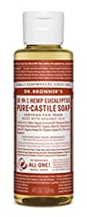 Earthy and warm, with a powerful menthol burst to clear congestion and focus the mind! Scented purely with organic eucalyptus oil, our Eucalyptus Pure-Castile Liquid Soap is concentrated, biodegradable, versatile and effective. With 18-in-1 u...