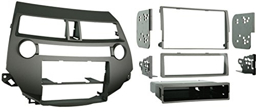 Metra 99-7874T Single/Double DIN Install Kit for 2008-2009 Honda Accord Vehicles with Single Zone Climate Control, Taupe
