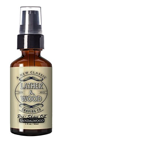 Best Pre-Shave Oil, Sandalwood, Premium Shaving Oil