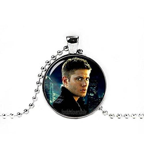 - Dean Winchester Necklace Pendant Supernatural Necklace Supernatural Jewelry Geeky Fangirl Fanboy