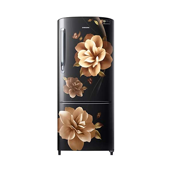 Samsung 192 L 3 Star inverter Direct Cool Single Door Refrigerator (RR20A272YCB/NL, Camellia Black) 2021 July Direct-cool refrigerator : economical and Cooling without fluctuation Capacity 192 liters: suitable for families with 2 to 3 members and bachelors Energy rating 3 Star