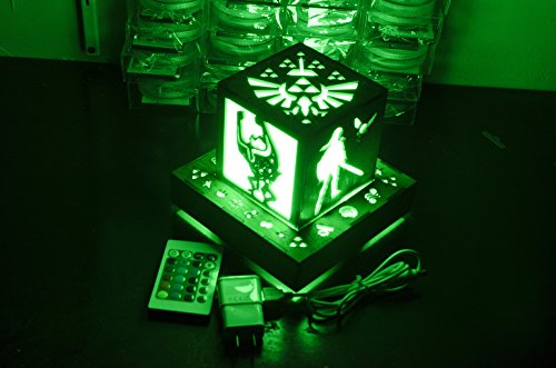 Outlets Base (Legend of Zelda Inspired- Link's Companions Color Changing Lantern with Outlet powered Base)