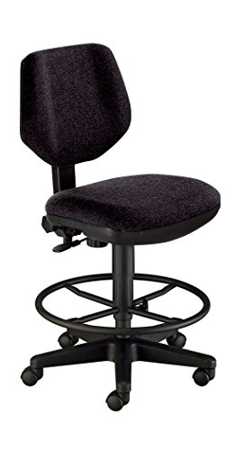 Alvin CH290-40DH Comfort Classic Deluxe Drafting Height Task Chair (Black)