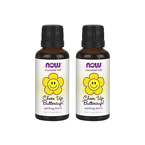 Now Foods Cheer Up Buttercup Uplifting Blend 1 fl oz Oil (Pack of 2) ()