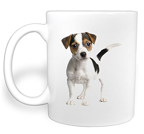 Confused Jack Russel Terrier Needs a Hug - 11 Ounce Ceramic Coffee Mug