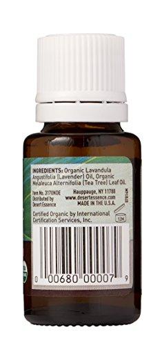Desert Essence Org. Lavender Tea Tree Oil .6 fl oz - incensecentral.us