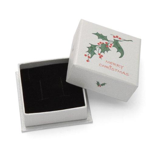 Livré dans un coffret-cadeau de Noël-Boucles d'oreilles Dé à Jouer Argent 925/1000–Taille :  3 mm 5035. Expédié Par la 1st class mail dans les plus brefs délais.