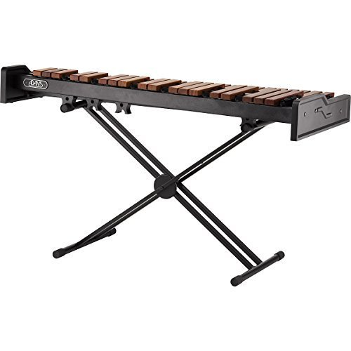 Adams Academy AXLD35 3.0 Oct. Light Rosewood Xylophone with X-Style Height Adjustable Stand by Adams