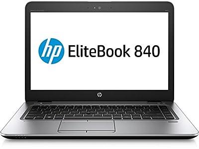 "HP EliteBook 840-G4 14"" Notebook, Intel Core i7-7600U 2.8GHz Dual-Core, 512GB SSD, 16GB DDR4, 802.11ac, Bluetooth, Win10Pro"