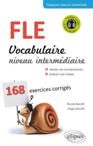 FLE, vocabulaire, niveau intermédiaire