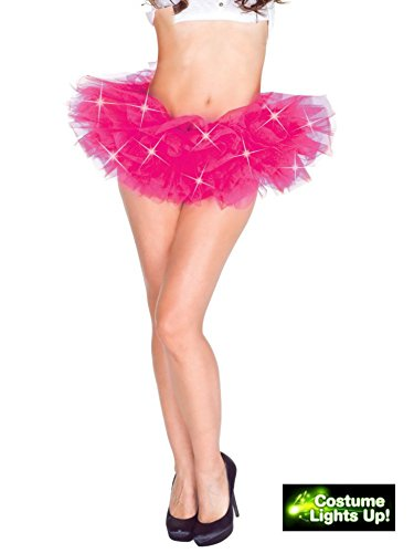 Hot Pink Light Up Tutu Adult (Light Up Adult Tutu)