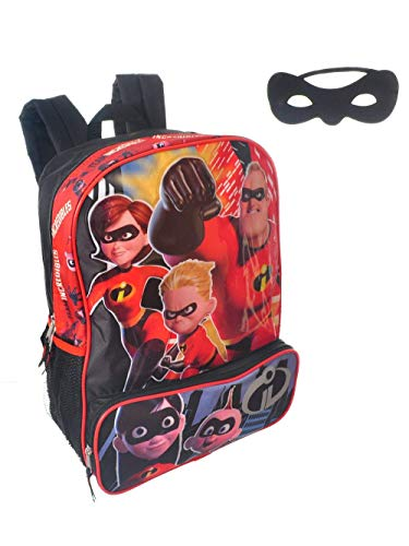"Disney Incredibles 2 Molded Front 16"" Backpack Tote, One Size"
