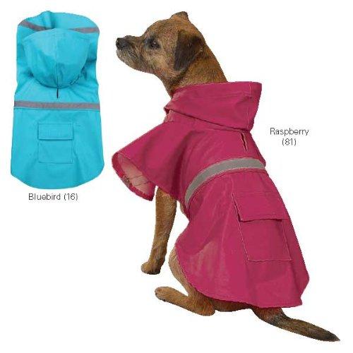 Guardian Gear Brite Pet Rain Pet Jacket - Bluebird XX-Small