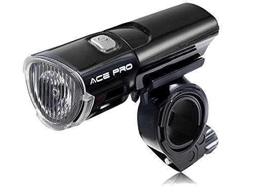 Light-Weight Ultra Bright CREE 3W LED Multipurpose Front Bike Light, Handheld Flashlight - Ideal For Kids And Adults - Use For Cycling, Camping, Commuting, Dog-Walking, Road Safety Etc -  Ace Pro Enterprises, LYSB015XZFMRW-SPRTSEQIP