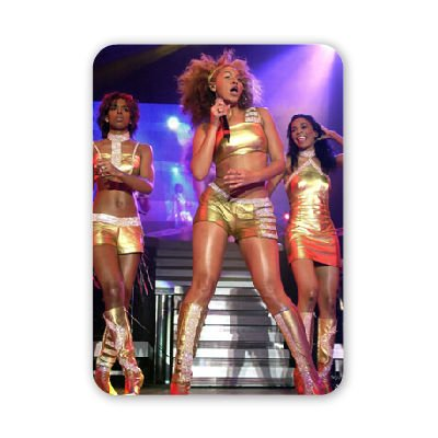 Destiny's Child concert at the Odyssey Arena - Mouse Mat Art247 Highest Quality Natural Rubber Mouse Mats - Mouse Mat