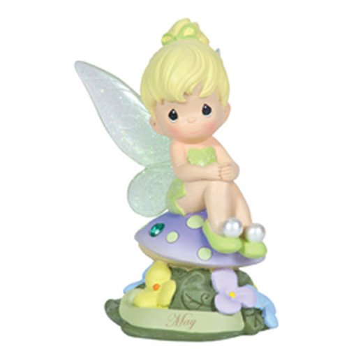 Precious Moments, Disney Showcase Collection,  May Fairy As Tinker Bell, Resin Figurine, Emerald, - Pictures Fairies Tinkerbell