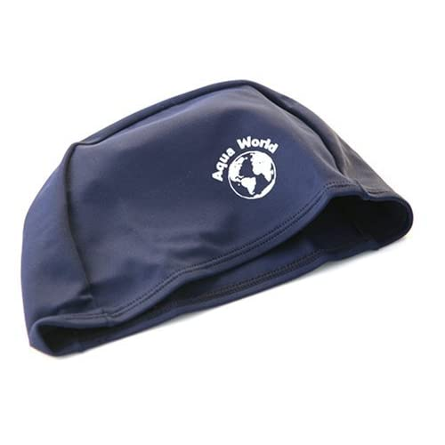 Chapeau de bain de Lycra - bleu marine [Divers.]
