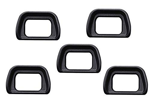 ((5-Pack) Photo Eyepiece Eyecup Camera Eyecup Viewfinder FDA-EP10 Replacement fits Eyepiece/Eyecup/Eye Cup Viewfinder Replacement for Sony A6300/A6000/NEX-6/NEX-7 Cameras FDA-EV2S Electronic viewfinde)