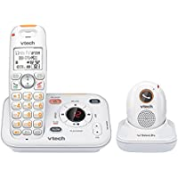 VTECH SN6187 CareLine Caller ID, ITAD and Pendant