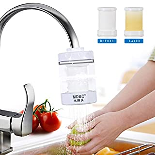 The Kitchen Faucet Filters - Water Purifier - Filtration System PP Cotton Physical Filtration M003 (White, PP Cotton)