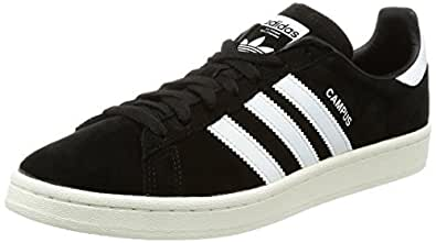 bb7243317356 Image Unavailable. Image not available for. Color  adidas Originals Men s  Campus Sneaker Black Chalk White ...