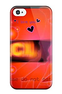 New Shockproof Protection Case Cover For Iphone 4/4s/ Flcl Case Cover