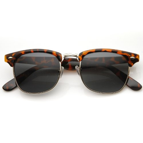 MLC Eyewear Vintage Inspired Classic Half Frame Nerdy UV400 - Boots Bans Ray