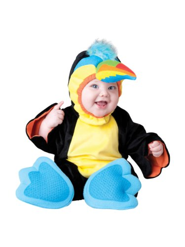 InCharacter Costumes Baby's Tiny Toucan Costume, Black, (Toucan Beak Costume)