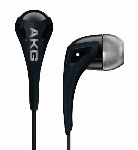 AKG K 340 In-Canal Bud Headphone - Liquorice (Discontinued by Manufacturer)