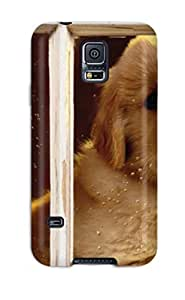 Matt C Brown Design High Quality Dog Cover Case With Excellent Style For Galaxy S5