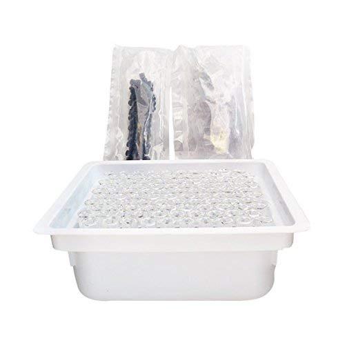 1ml Borosilicate Glass Luer Cap Applicator W/Measurement Markings