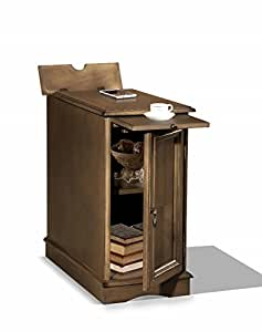premium 3550 chairside usb end table with power outlet charging ports and tray in. Black Bedroom Furniture Sets. Home Design Ideas