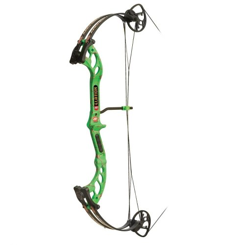 Precision Shooting Equipment Elation Bow, Large/40-Pound, Right Hand, Green For Sale