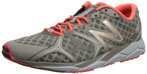 New Balance Women's W1400 NBX Running Shoe,Grey/Coral,9.5 B US
