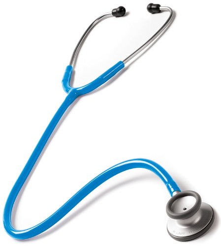 Prestige Medical Clinical Lite Stethoscope, Neon Blue by Prestige Medical