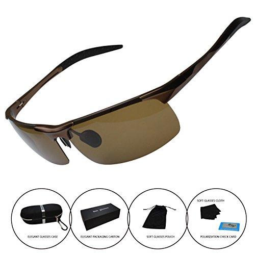 Men's Polarized Sunglasses Driving Riding Fishing Unbreakable Frame Fashion - Wholesale Fishing Polarized Sunglasses