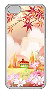 Apple iPhone 5C Case - Beautiful Illustrations Funny Lovely Best Cool Customize iPhone 5C Cover