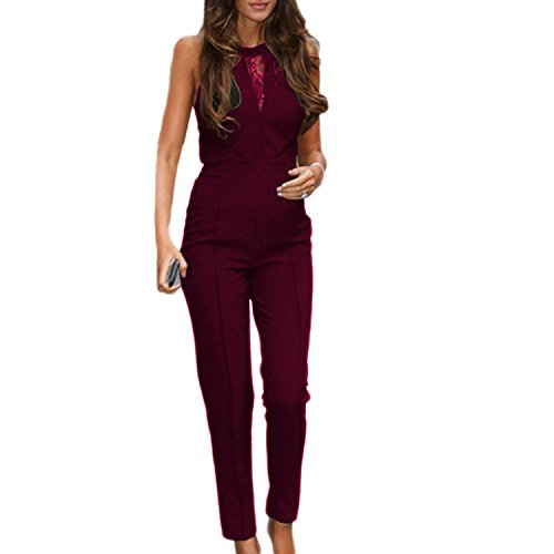SUNNOW Sleeveless Playsuit Cocktail Jumpsuit product image