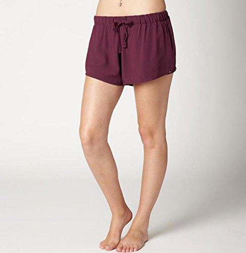 Fox Racing Woven Shorts (Fox Racing Girls Fling Soft Woven Short,Large,Merlot)