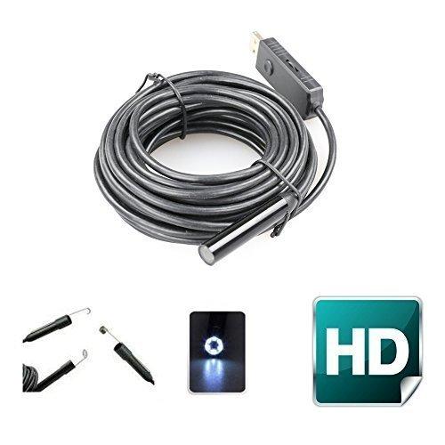 37 opinioni per Endoscopio,Flylinktech 8.5mm 7M Endoscopio Casa Impermeabile Telecamera