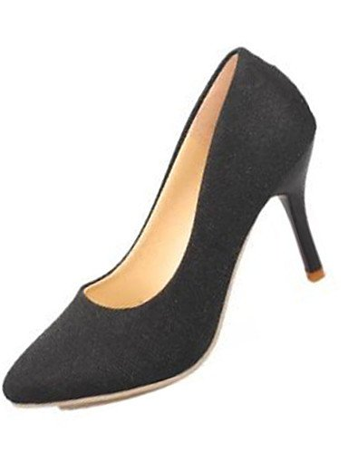 tacones Black 5 5 Mujer Eu37 Uk4 5 negro Oro Golden Eu42 Rojo pu Cn43 casual Stiletto Ggx 5 tacones us10 tacón us6 5 Uk8 Gris 7 Cn37 WAwqOxn4