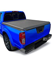 Tyger Auto T1 Roll Up Truck Bed Tonneau Cover TG-BC1N9034 works with 2005-2019 Nissan Frontier; 2009-2014 Suzuki Equator | Fleetside 5' Bed | For models with or without the Utili-track System
