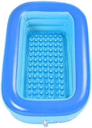 120m Kinderschwimmbad PVC Schwimmbad Kinder Baby Planschbecken Square Aufblasbares Schwimmbad S.