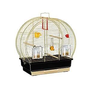 Liangzishop Bird Acero Inoxidable Jaula Grande Jaula del Loro ...