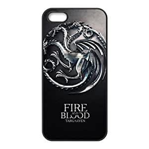 Fire Blood Cell Phone Case for iPhone 5S