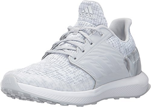 Price comparison product image adidas Kids Unisex RapidaRun Lux J (Big Kid) White/Grey Athletic Shoe