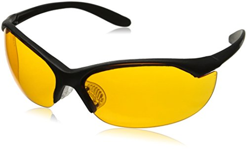 Howard Leight by Honeywell Vapor II Sharp-Shooter Anti-Glare Shooting Glasses, Orange Lens (Orange Lens Safety Glasses)