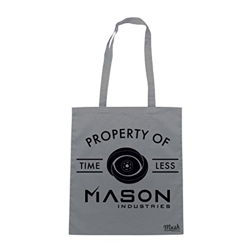 Borsa TIMELESS MASON INDUSTRIES - Grigio - FILM by Mush Dress Your Style