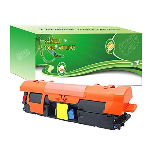 ABCink C9702A 121A Toner Compatible for HP Laserjet C9700A C9701A C9702A C9703A C9704A Printer Toner Cartridge,4000 Yields(1 Pack,Yellow)